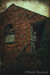 Nightmare (micahmoreland) Tags: uk england house abandoned film home strange mystery movie costume scary funny mood moody farm surrealism dream surreal cheeky creepy suit mysterious horror isolation nightmare disturbing derelict northyorkshire atmopsheric horrorsurrealism