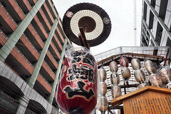 Toro-yama, Gion Matsuri, Kyoto (jtabn99) Tags: kyoto japan nippon nihon street gion shijo festival 20160715 cloudy toroyama yama hoko summer yasakajinja shrine