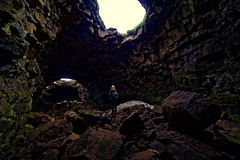 Inside the Dragon's Nest (CoreForce) Tags: raufarhlshellir suurland island lava cave hhle jo
