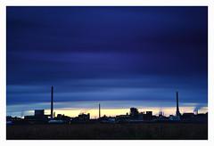 Letztes Licht (tsobanski19) Tags: deutschland chemie industrie industry sonne untergang d800 nikon langzeitbelichtung europa rheinland germany nrw uerdingen