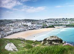 St Ives (pamfox1000) Tags: sea cornwall colours shapes beaches stives