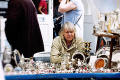 Lonely and Thoughtful (Marta Marcato) Tags: woman london lady donna market think thinking oldlady portobello lonely antiques mercato antiquariato londra sola signora pensare nikond7200