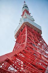 Tokyo Tower in my memory (Pop_narute) Tags: city tower japan tokyo symbol landmark tokyotower
