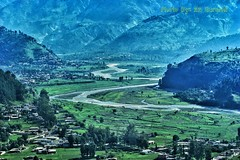 Balakot - Gateway to Kaghan Valley, Pakistan (zzqureshi) Tags: pakistan kaghan kaghanvalley balakot riverkunhar kunhar kunharriver
