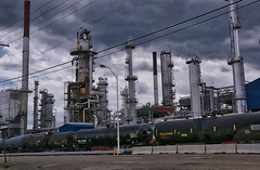 Montana Industry (robinlamb1) Tags: industry oil refinery railwaycars tankers chemicals smileyface happyface