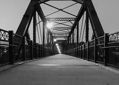 Hot Metal Bridge-Pittsburgh (Paul McCarthy...) Tags: hotmetalbridge pittsburgh visitpittsburgh nightshots bridges bw sony teamsony