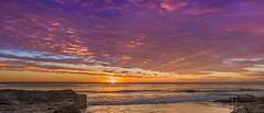 """""""gold coast sunrise"""" (rod marshall) Tags: sunrise snapperrocks bestsunrise sunrisesnapperrocksbestsunrise pinksunrise oceansunrise goldcoastsunrise"""