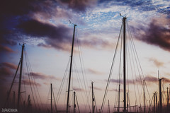 Ramsgate (Zaparowana) Tags: ramsgate uk greatbritain sky clouds evening sunset marina bay seaside bokeh dof canon 650d 50mm 18 t4i blog blogged