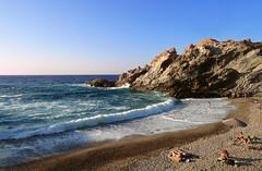 At the end everybody goes to the beach (angeloska) Tags: ikaria opsikarias aegean greece   nas may nudebathing beach waves