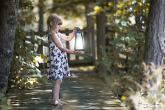 Do you believe in fairies? (ezettnor) Tags: ifttt 500px play love child kid nature family people girl lantern cute lovely canon 135mm