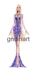 Genuine Horoscope - Virgo (G-nuinart) Tags: dibujo drawing illustration design diseño dress designs x diseños ilustración ilustracion icon inspired art artwork arte virgo horoscope horoscopo horóscopo signo zodiaco gnuinart genuine genuina genuino