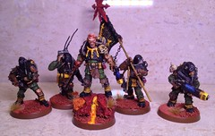 Chaos Cultist Renegade Militia affiliated to the Black Legion 7 (Godders11) Tags: gamesworkshop 40k chaoscultist renegade traitorguard cultist chaos