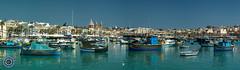 Marsaxlokk, Malta (Michael N Hayes) Tags: malta valletta mediterranean europe marsaxlokk summer fujifilmxpro1 sea culture city