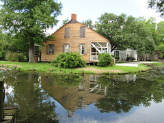 IMG_6061 (halffullpl) Tags: acadianvillage louisiana buildings structure history architecture old historic village acadian pattylebedhessphotos water reflection