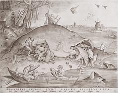 Big fish eat little fish [1557] (petrus.agricola) Tags: etching pieter van der heyden after drawing by bruegel elder