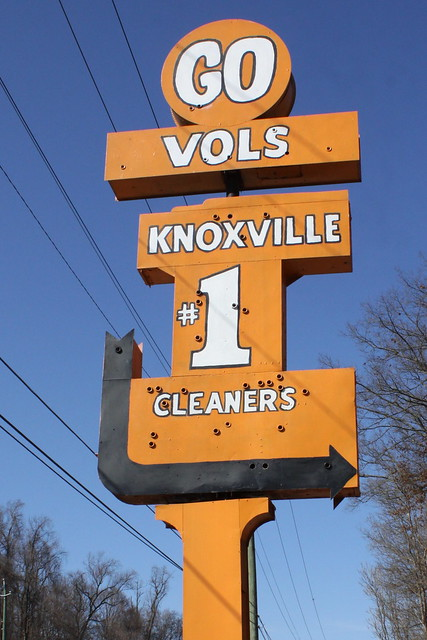 Knoxville Cleaners Sign