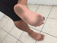 They got this dirty just from walking #barefoot around the house. #filthyfeet #barefooter (barefootdizzle) Tags: barefoot filthyfeet barefooter