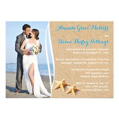 (Post Wedding Reception Only Photo Template Invite) #AffordableTrendy, #AffordableWedding, #BestWedding, #DestinationWedding, #GreatReceptionOnlyWedding, #PhotoWedding, #PostWeddingReception, #StarfishSandBeach, #TropicalBeachThemReception, #TropicalBeach (CustomWeddingInvitations) Tags: post wedding reception only photo template invite affordabletrendy affordablewedding bestwedding destinationwedding greatreceptiononlywedding photowedding postweddingreception starfishsandbeach tropicalbeachthemreception tropicalbeachthemereceptiononly is available custom unique invitations store httpcustomweddinginvitationsringscakegownsanniversaryreceptionflowersgiftdressesshoesclothingaccessoriesinvitationsbinauralbeatsbrainwaveentrainmentcompostweddingreceptiononlyphototemplateinvite weddinginvitation weddinginvitations