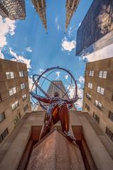 The World On His Shoulders (duncan_mclean) Tags: sculpture atlas 5thavenue statue internationalbuilding city rockefeller newyork centre