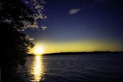 Lake Mendota (Myk Jordan) Tags: campus uw uwmadison university badgers goldenhour sunset sun sundown lake monona mendota isthmus sky clouds cloud water