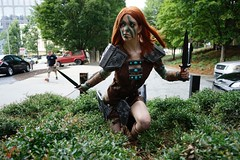 Dragoncon 2016 Cosplay (V Threepio) Tags: dragoncon2016 cosplay costume photography photoshoot posing sonya7r 2870mm unedited unretouched fantasy scifi comiccon dressup atlanta outfit modeling geekculture comics dc2016 girl female skyrim theelderscrolls videogame