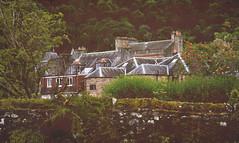 Post-mortem spying (g a b r i e l l e s w i n d l e h u r s t) Tags: scotland callander graveyard mossy wall trossachs rabbies tours