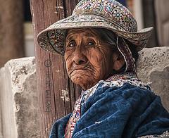 Incan watcher woman in Chivay (Colca Valley-Arequipa-Peru) (txema goiri) Tags: portrait chivay colca arequipa peru andes inka inca condor colorful elderwoman colcavalley colorfulportrait wrinkledwoman watcher observer mujerarrugas retratocolor andeanmountainchain tawantinsuyo