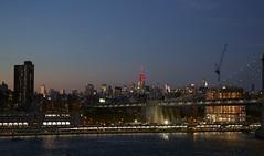 160915 Downtown Manhattan and Manhattan Bridge (BY Chu) Tags: brooklyn brooklynbridgepark downtownmanhattan manhattanbridge newyork