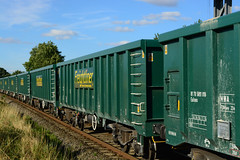 66618 6z22 chesterton to barrow hill with the brand new mwa monster boxes seen at langham (I.Wright Photography over 2 million views thanks) Tags: 66618 6z22 chesterton barrow hill with brand new mwa monster boxes seen langham
