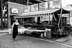 Pecan Street Festival - Fall (-Dons) Tags: austin texas unitedstates tx usa woman cigarrette phone brick street 6thstreet sixthstreet pecanstreetfestival