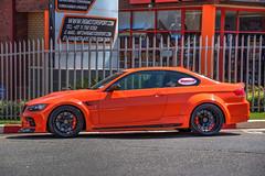 Orange BMW 325, Randburg (Paul Saad) Tags: cars randburg bmw ferrari racing street wheels colors orange 6serie 2serie german nikon hdr outdoor