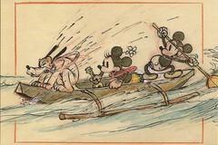 Hawaiian Holiday (LillieBuggy) Tags: boat pluto disney minnie mickey postcard