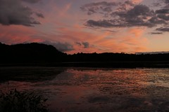 (robinsing59) Tags: sunset pond cloud water