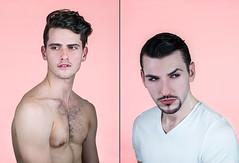 1 (raymondcolonphotography) Tags: fashion fashionphotography pink guy woman models style studio jewlery mak shirtless