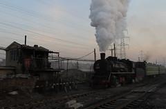 I_B_IMG_9093 (florian_grupp) Tags: asia china steam train railway railroad fuxin liaoning sy coal mine 282 mikado steamlocomotive locomotive