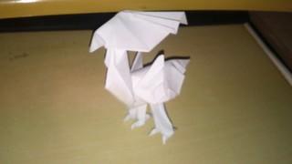 Origami Yellow Bird - Chocobo (Satoshi Kamiya)