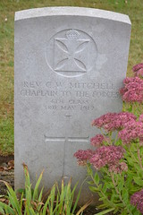 CWGC Chaplain 4th Class The Rev. Charles Wand Mitchell. (greentool2002) Tags: faubourg damiens british cemetery arras france cwgc war graves chaplain 4th class rev charles wand mitchell army chaplains department