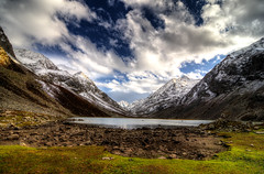 Izmis Lake (umairadeeb) Tags: izmis lake lakes landscape hdr utror valley meadows banda danda kalam swat jahaz nature mountain clouds water photography