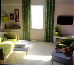 Sunny. (JayCatt2220-ONESIXFURNITURE) Tags: homestaging 16scale sixthscale barbie modernminiature dollhouse diorama