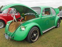 1965 Volkswagen Beetle (splattergraphics) Tags: 1965 volkswagen beetle vw volksrod carshow karbkings mobtowngreaseball dundalkmd