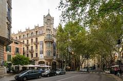 DSC_0213 (mkk3a) Tags: architektura grandhotel hiszpania majorka mallorca palma palmademallorca secesja
