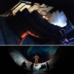 Tosca - Act 3 (badger_beard) Tags: eno opera english national tosca enotosca act3 three act scenery set wings backstage frank philipp schlssman designer tunnel