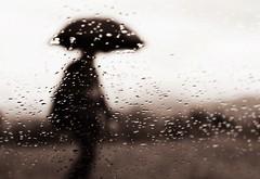 Rain (PattyK.) Tags: ioannina giannena giannina epirus ipiros balkans hellas ellada greece griechenland europe europa whereilive rain raindrops ilovephotography amateurphotographer umbrella autumn october rainywindow weather nikond3100           silhouette