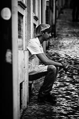A moment for yourself (Hans Dethmers) Tags: flickr hans dethmers cook kok rain regen hat cigarette