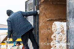 Khiva market - looking for buyers? (10b travelling) Tags: 10btravelling 2015 asia asien carstentenbrink centralasia dishonqala genericplaces iptcbasic ichonqala khiva otherkeywords polvondarvoza silkroad sovietunion ussr uzbek uzbekistan xiva east gate man market potatoes tenbrink thestans truck