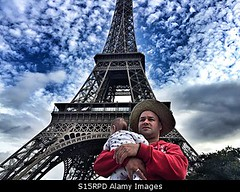 Photo accepted by Stockimo (vanya.bovajo) Tags: stockimo iphonegraphy iphone father baby tourist tourists travel eiffel tower france french family infant newborn man parent traveller holiday vacation parenthood childhood adventure