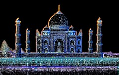 India - Uttar Pradesh - Agra - Taj Mahal - 16bb (asienman) Tags: asienman indien agra mughalarchitecture tajmahal asienmanphotography asienmanphotoart unescoworldheritagesite muslimart