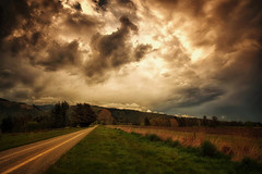 ...and the sky darkened (Kevin_Jeffries) Tags: stormy road nature nikon d7100 nikkor storm hills grass field light rural jeffries sunlight dramatic drama skylight energy atmosphere