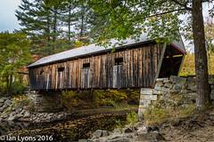 Lovejoy Covered Bridge - South Andover, Maine (IanLyons) Tags: architecturebuildingsfeatures usa concepts northamerica lovejoycoveredbridge andover maine bridge fallcolours fall southandover coveredbridge