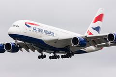 G-XLED - British Airways - Airbus A380-841 (5B-DUS) Tags: gxled british airways airbus a380841 a380 380 a388 lhr egll london heathrow airplane airport aircraft aviation flughafen flugzeug planespotting plane spotting